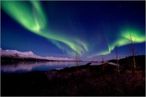 Northern Lights above Iceland